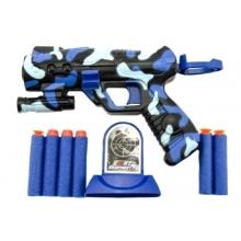 Detská pištoľ TEDDIES na penové náboje 16 cm