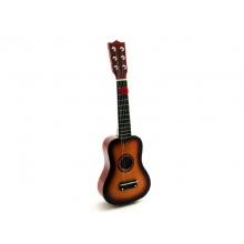 Detská gitara TEDDIES drevo/kov 53 cm