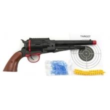 Detská pištoľ TEDDIES na mäkké a vodné guličky 33 cm