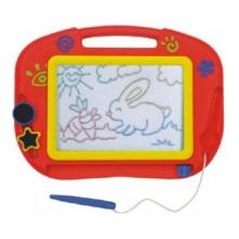 Detská magnetická tabuľka TEDDIES s doplnkami