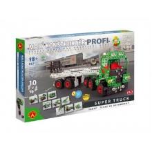 Stavebnica PEXI MALÝ KONSTRUKTÉR ťahač Profi Super Truck