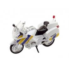 Detská policajná motorka TEDDIES 12cm
