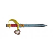 Detský rytiersky meč TEDDIES penový 53cm