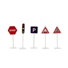 Detské dopravné značky TEDDIES 14ks