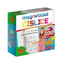 Detské magnetické číslice na chladničku PEXI 100ks
