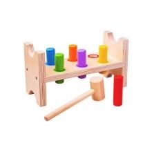 Detská drevená zatĺkačka BIGJIGS TOYS