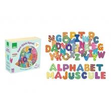 Detské magnetky Drevená abeceda VILAC 56ks