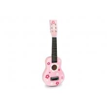 Detská gitara drevená VILAC Pink