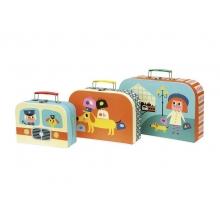 Detský set 3 kufríkov VILAC