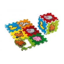 Puzzle MOJE PRVÉ ZVIERATKÁ 15 x 15 cm penové 6ks