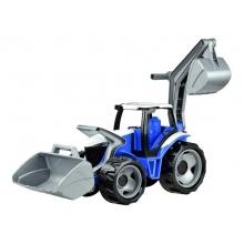 Traktor LENA s lyžicou a bagrom 65cm