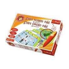 Hra vzdelávacia TREFL MALÝ OBJAVITEĽ SVET OKOLO NÁS + kúzelná ceruzka