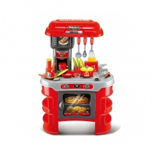 Kuchynka detská G21 MALÝ KUCHÁR červená