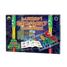 Stavebnica elektronická DROMADER TAJOMSTVO ELEKTRONIKY 180 EXPERIMENTOV detská
