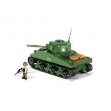 Stavebnica COBI 2464 WWII Tank M4A1 Sherman