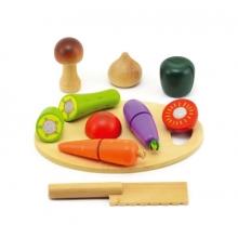 Detská zelenina s lopárikom TEDDIES 16ks