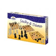 Stolná hra DETOA Šach a dáma
