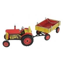 Detský traktor KOVAP ZETOR RED 28 cm