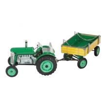 Detský traktor KOVAP ZETOR zelený 28cm