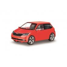 Stavebnica COBI 24570 Škoda Fabia model 2019 červená