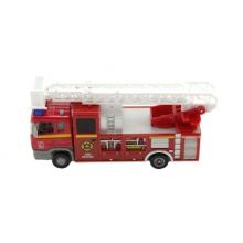Detské hasičské auto TEDDIES so svetlom a zvukom 17cm