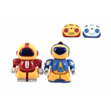 Robot TEDDIES so svetlom 8cm 2ks