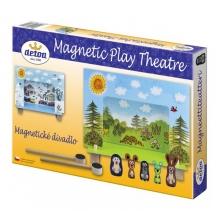 Divadlo magnetické drevené DETOA Krtko