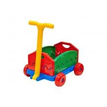 Vozík detský rozkladací s rukoväťou LENA 40cm