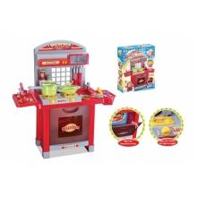 Kuchynka detská G21 SUPERIOR s príslušenstvom červená